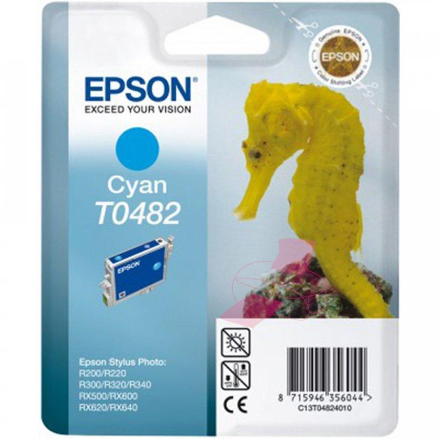 Epson T0482 Cyan Mustepatruuna