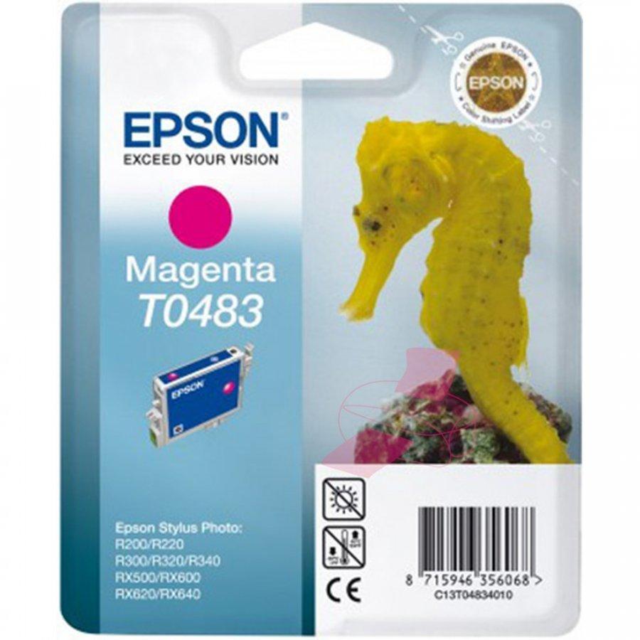 Epson T0483 Magenta Mustepatruuna