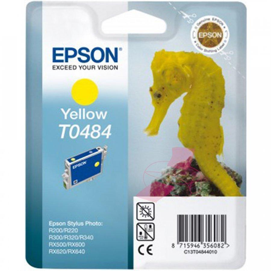Epson T0484 Keltainen Mustepatruuna