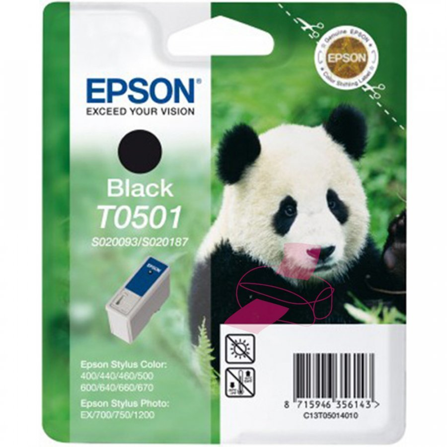 Epson T050 Musta Mustepatruuna