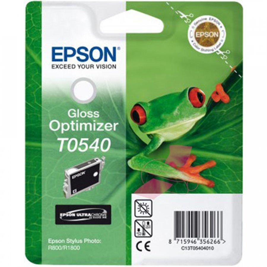 Epson T0540 Gloss Optimizer Mustepatruuna