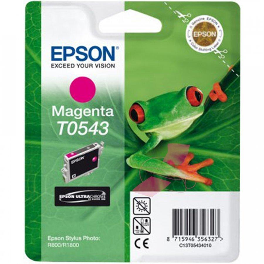 Epson T0543 Magenta Mustepatruuna