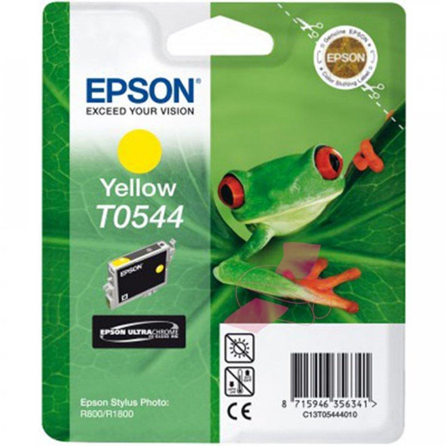 Epson T0544 Keltainen Mustepatruuna