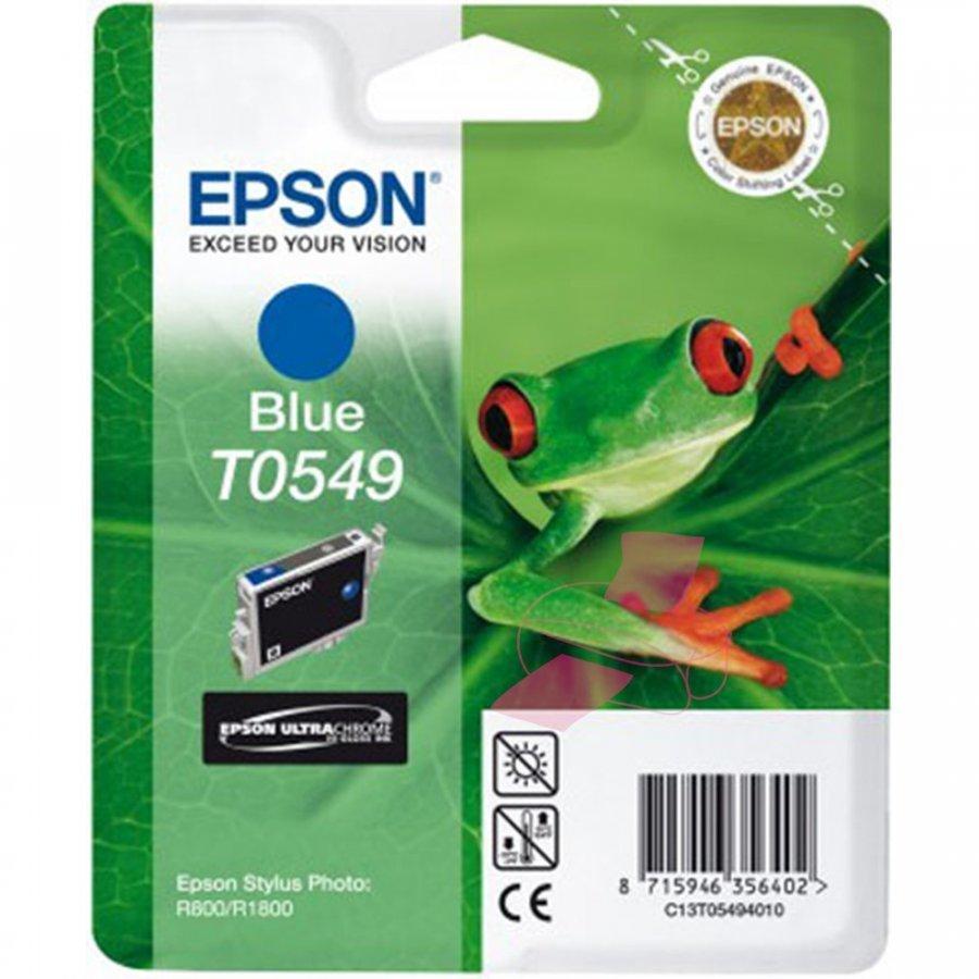 Epson T0549 Sininen Mustepatruuna