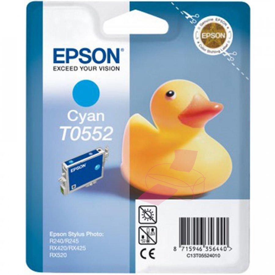 Epson T0552 Cyan Mustepatruuna