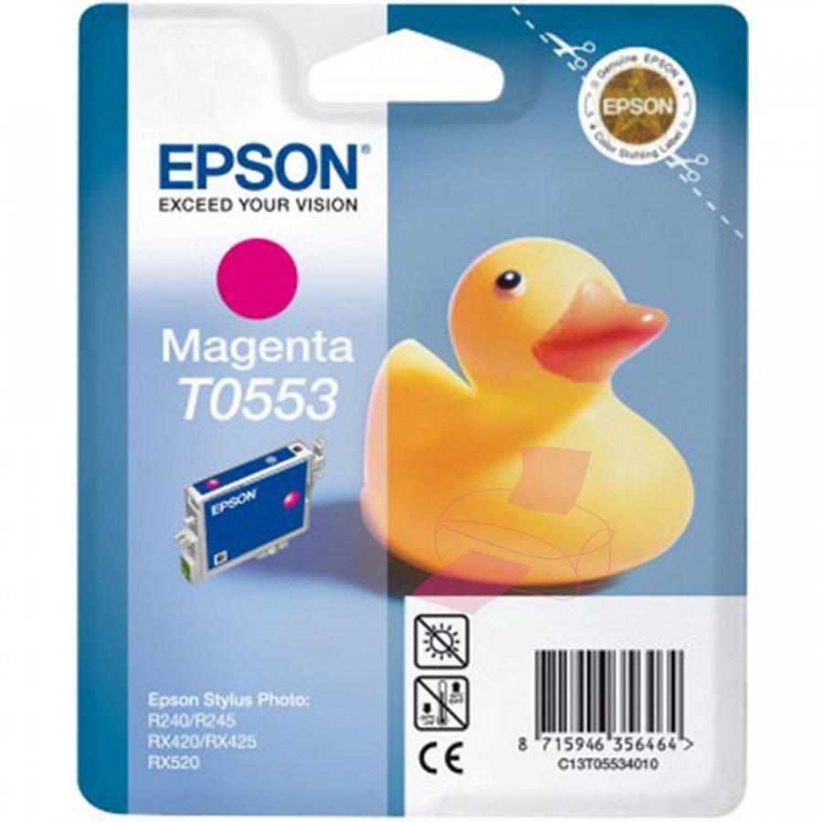 Epson T0553 Magenta Mustepatruuna