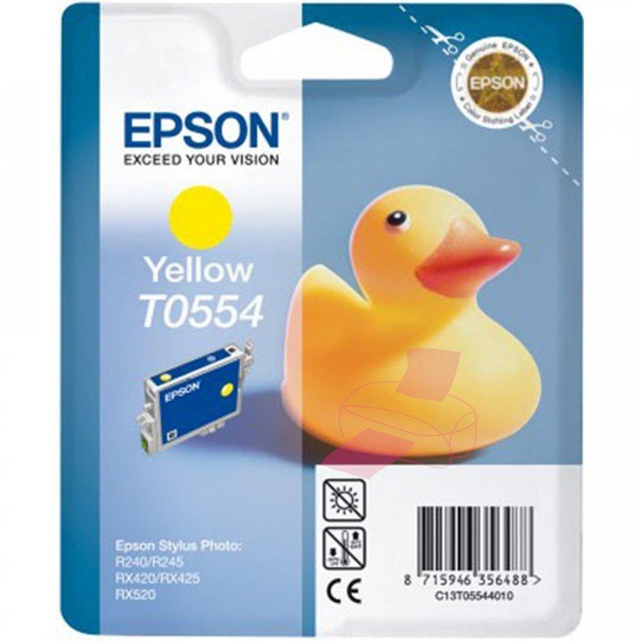 Epson T0554 Keltainen Mustepatruuna