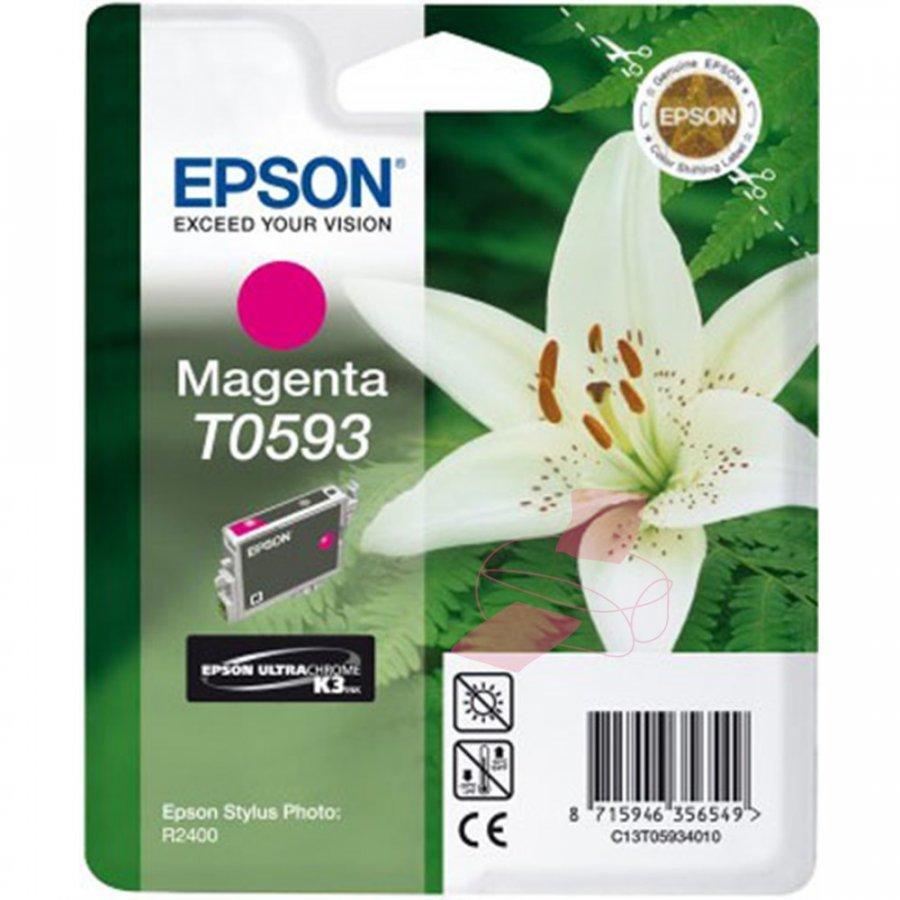 Epson T0593 Magenta Mustepatruuna