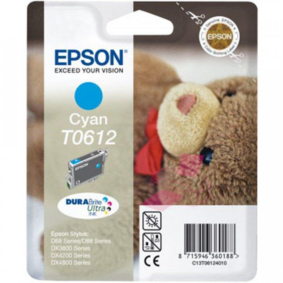 Epson T0612 Cyan Mustepatruuna