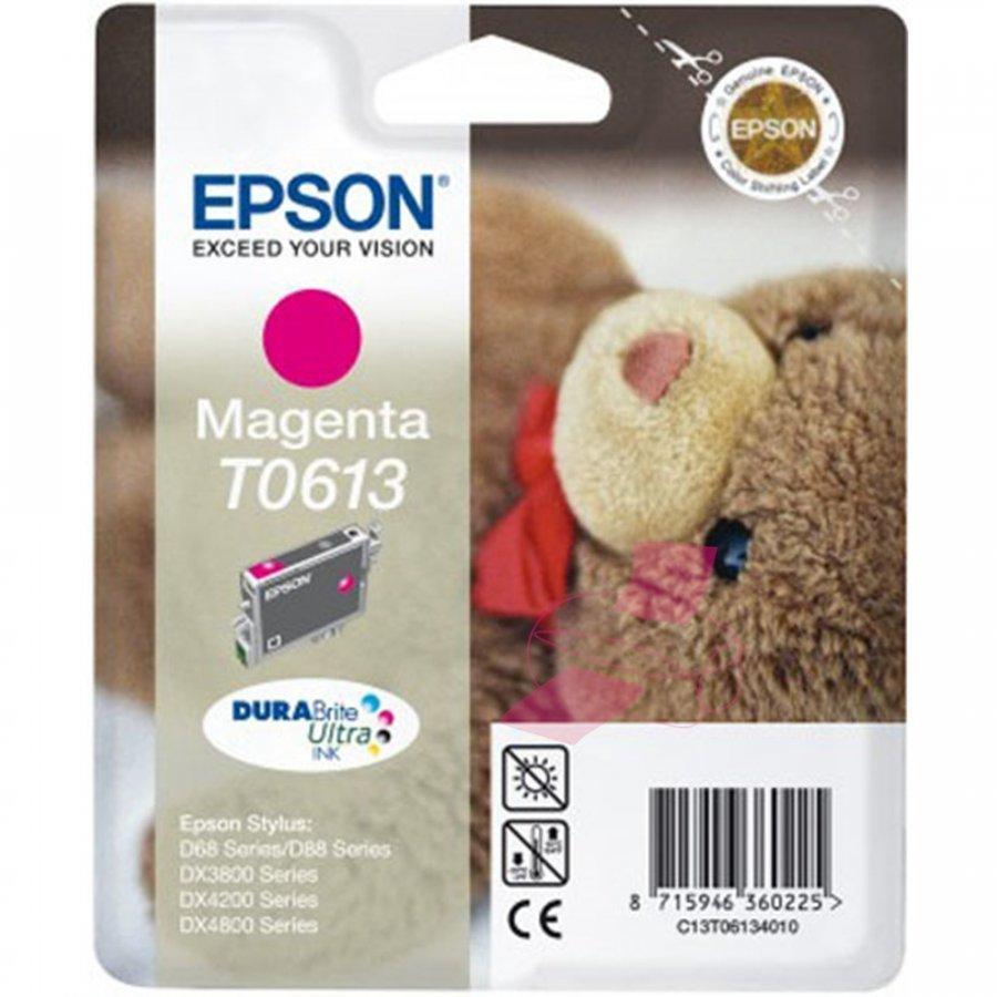 Epson T0613 Magenta Mustepatruuna