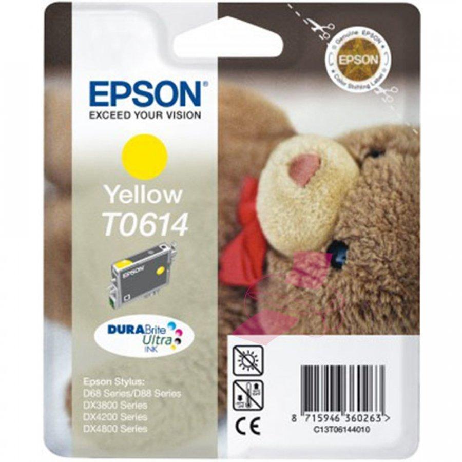 Epson T0614 Keltainen Mustepatruuna