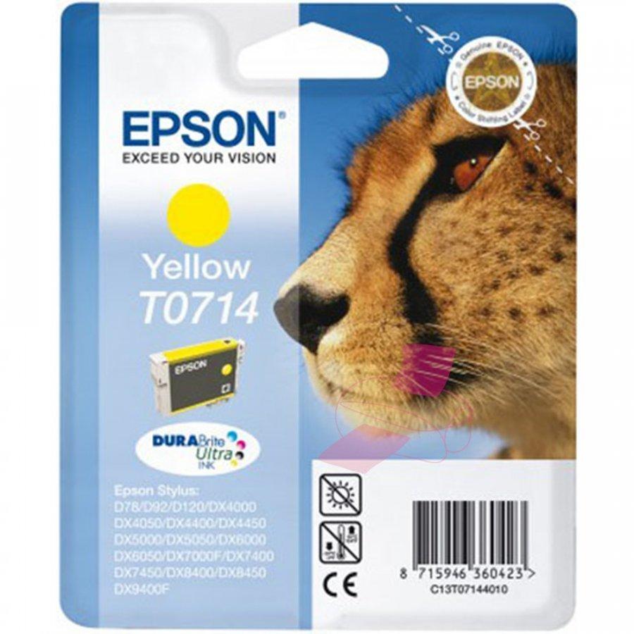 Epson T0714 Keltainen Mustepatruuna