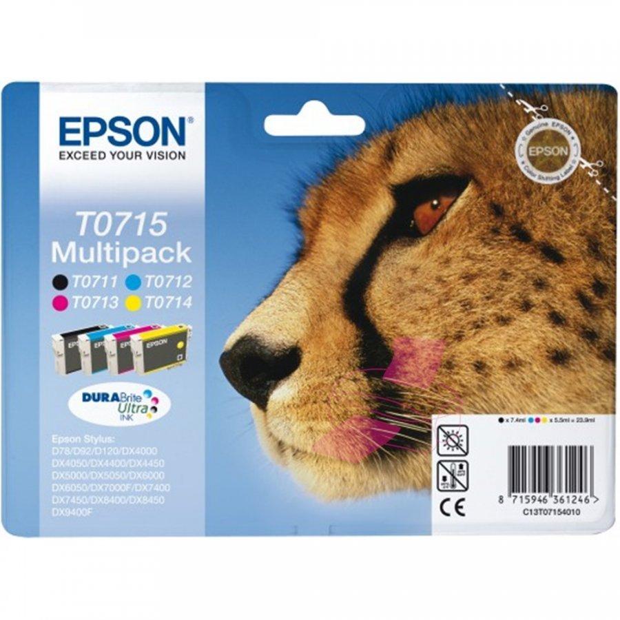 Epson T0715 Neljä Väriä Kasettisarja
