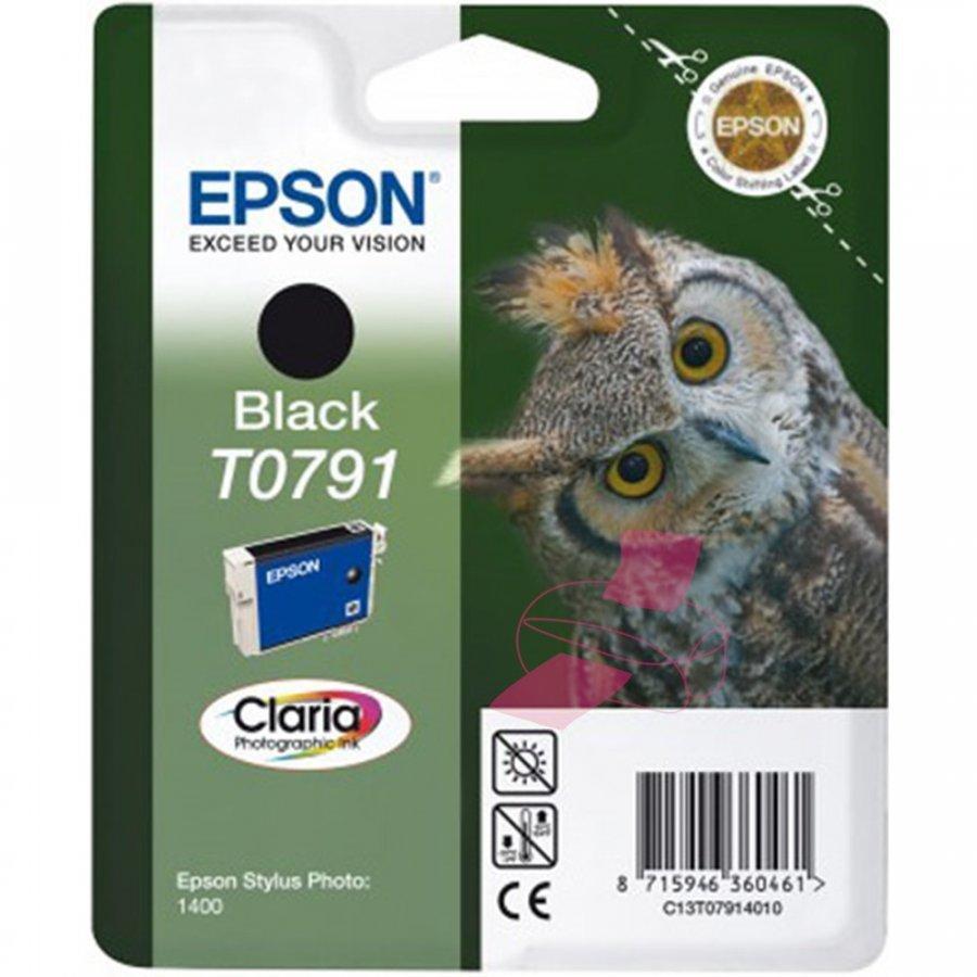 Epson T0791 Musta Mustepatruuna