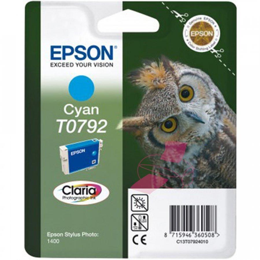 Epson T0792 Cyan Mustepatruuna