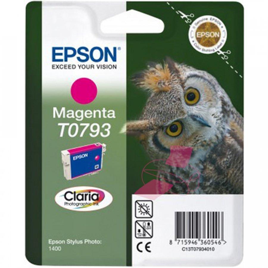 Epson T0793 Magenta Mustepatruuna