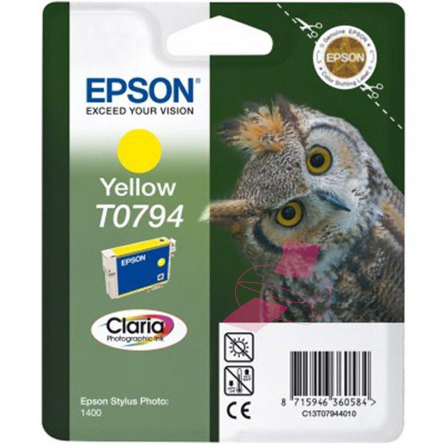 Epson T0794 Keltainen Mustepatruuna
