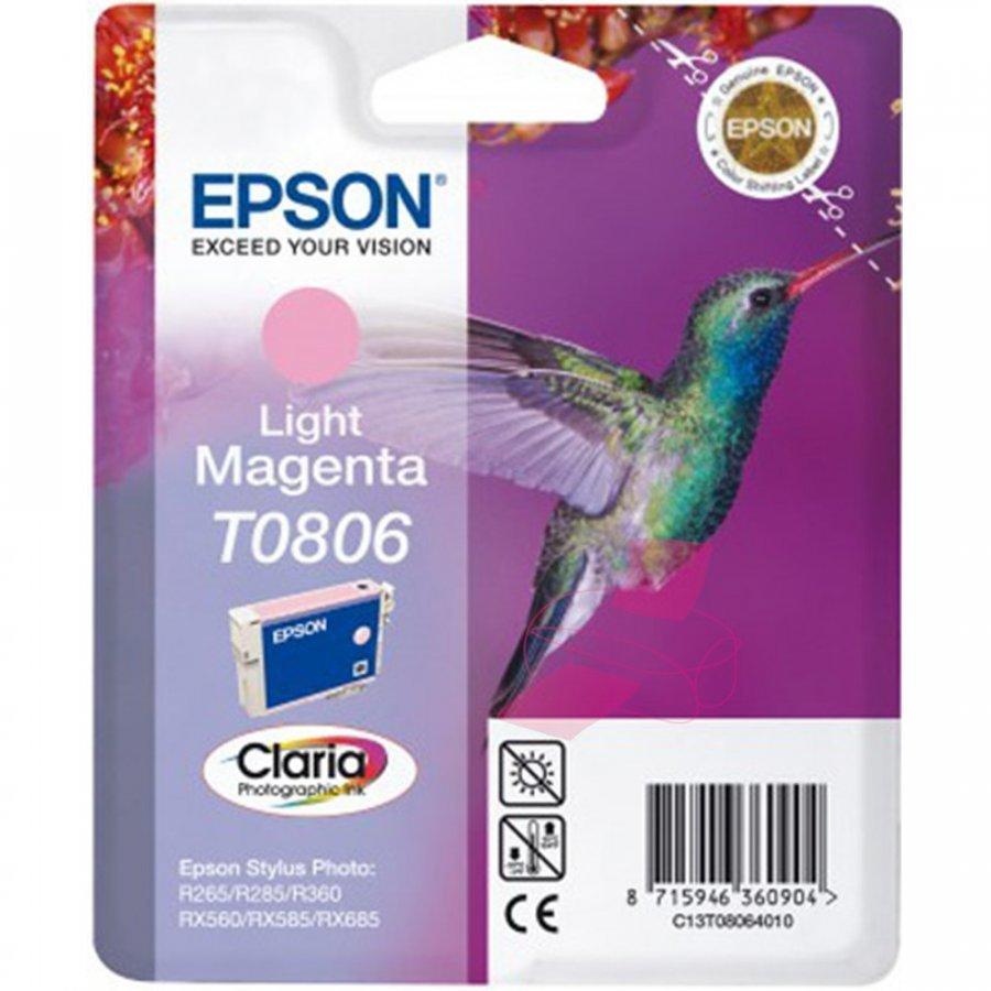 Epson T0806 Light Magenta Mustepatruuna