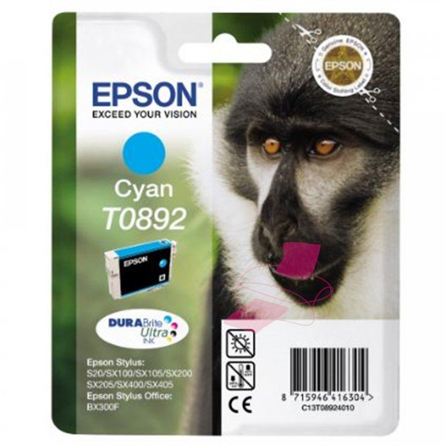 Epson T0892 Cyan Mustepatruuna