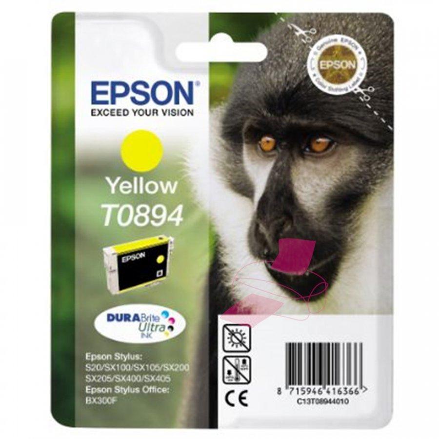 Epson T0894 Keltainen Mustepatruuna