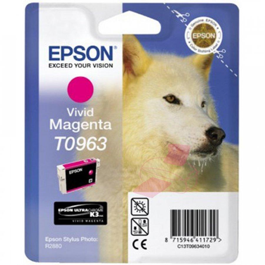Epson T0963 Magenta Mustepatruuna