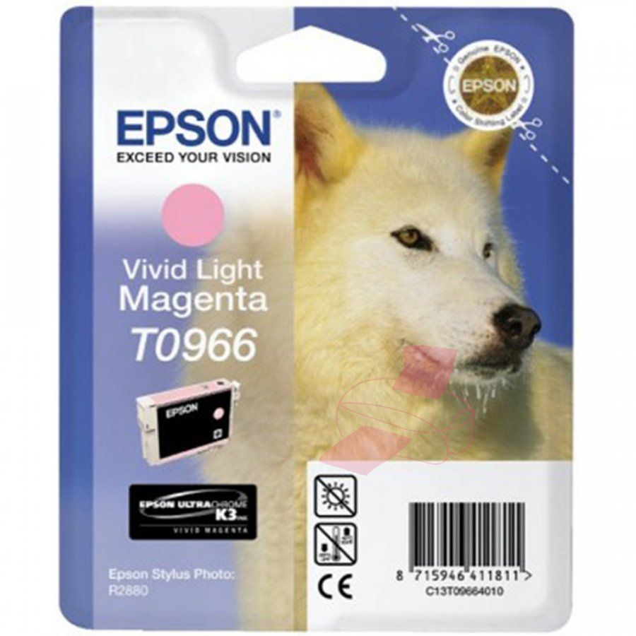 Epson T0966 Light Magenta Mustepatruuna