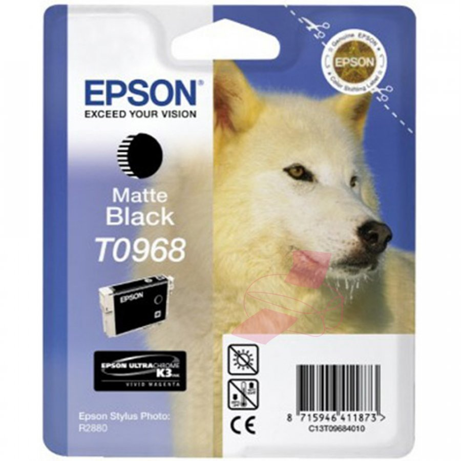 Epson T0968 Matta Musta Mustepatruuna