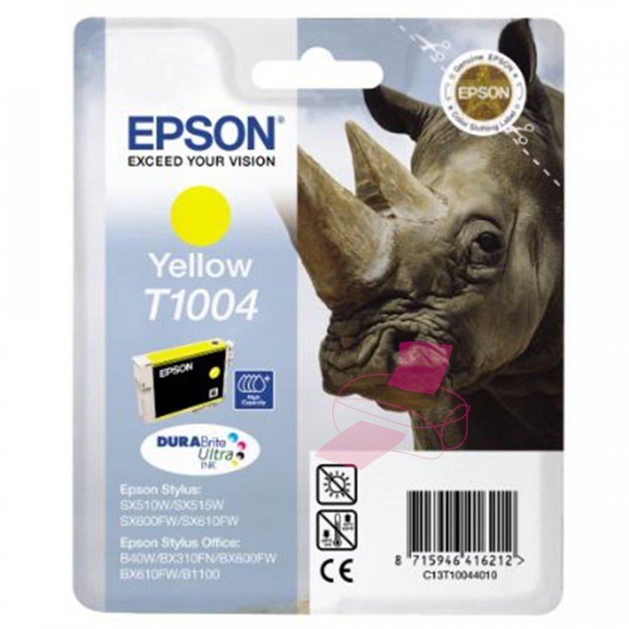 Epson T1004 Keltainen Mustepatruuna