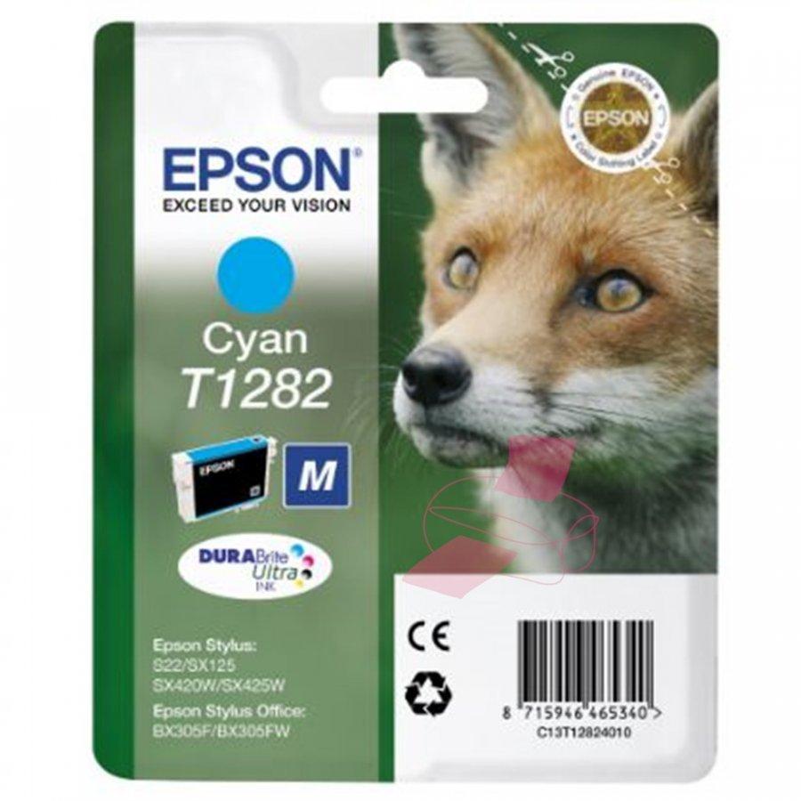 Epson T1282 Cyan Mustepatruuna