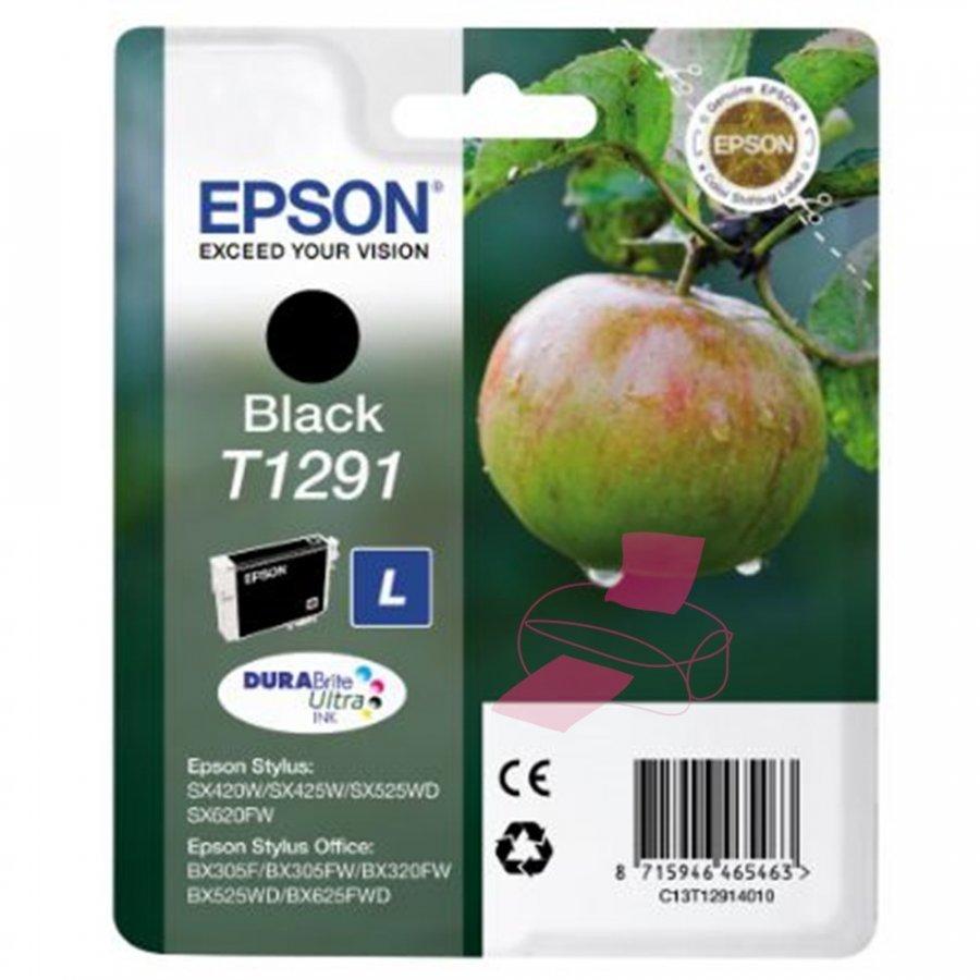 Epson T1291 Musta Mustepatruuna