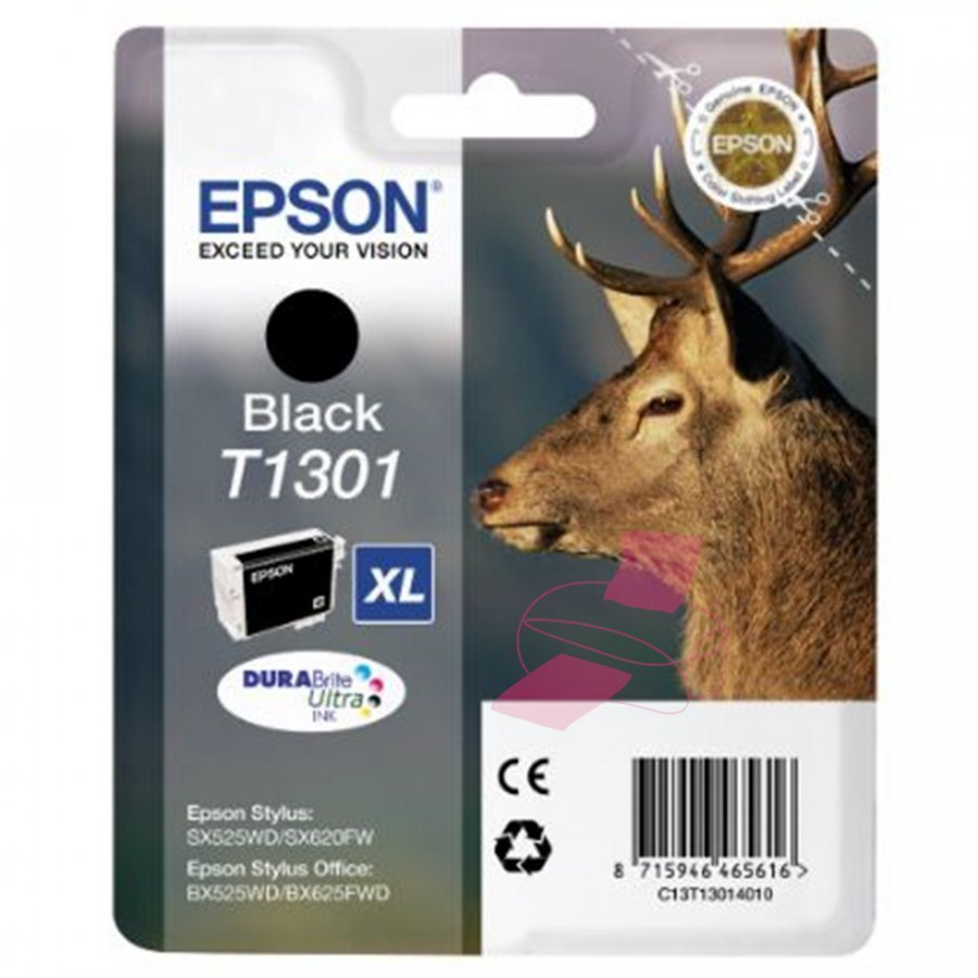 Epson T1301 Musta Mustepatruuna