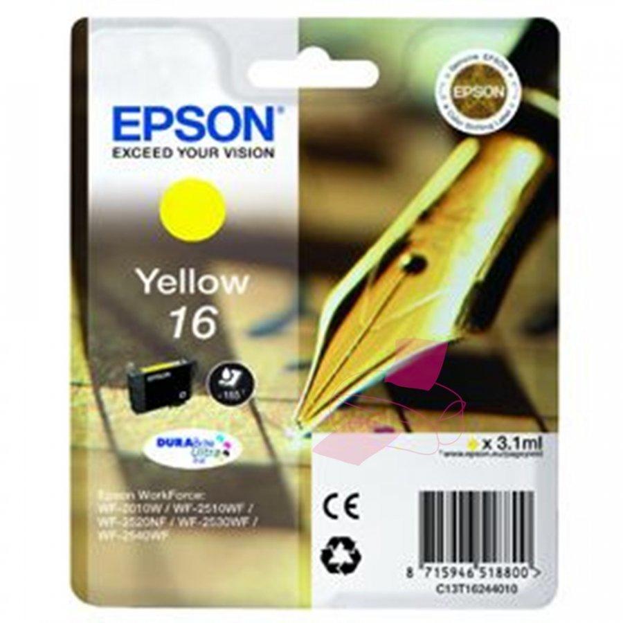 Epson T1624 Keltainen Mustekasetti