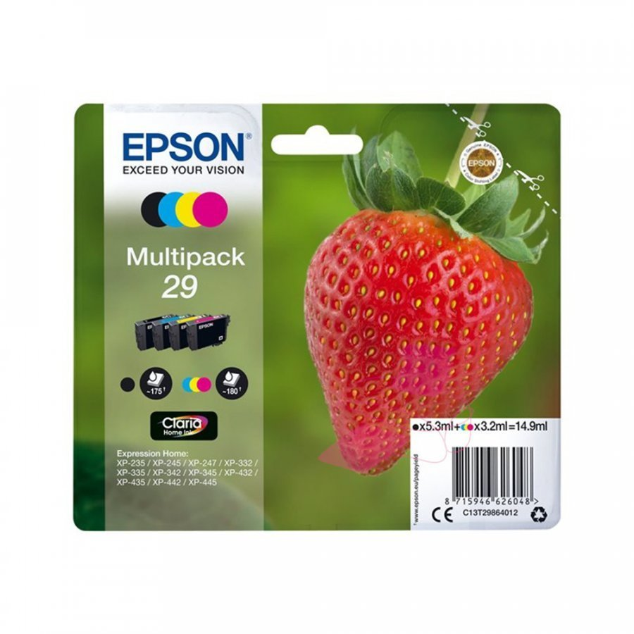 Epson T2986 Neljän Värin Kasettisarja