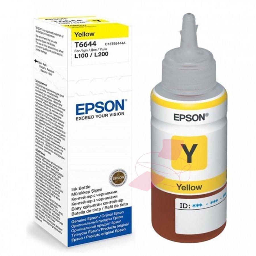 Epson T6644 Keltainen Mustepullo