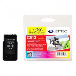 Jet Tec Canon Cl-513 Väri Mustekasetti