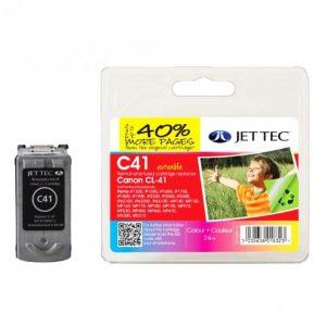Jet Tec Canon Cli-526 Musta Mustekasetti