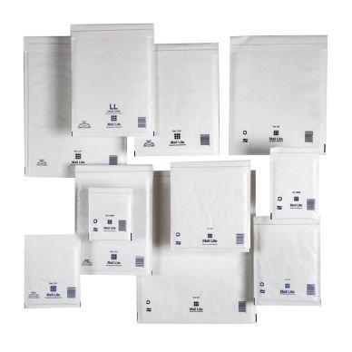 Kuplapussi Mail Lite Tuff 180x260mm Valkoinen 100 kpl
