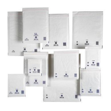 Kuplapussi Mail Lite Tuff 270x360mm Valkoinen 50 kpl
