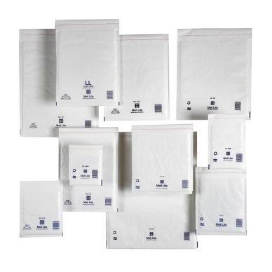 Kuplapussi Mail Lite Tuff 350x470mm Valkoinen 50 kpl