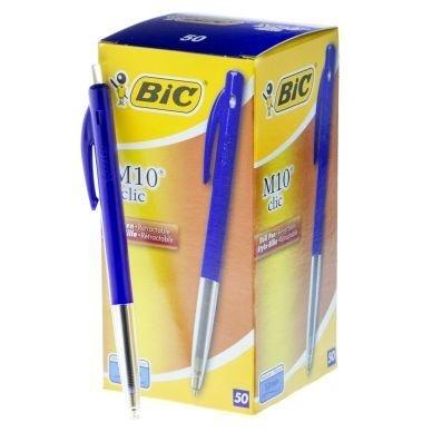 Kuulakärkikynä Bic Clic M10 Sininen 50 kpl