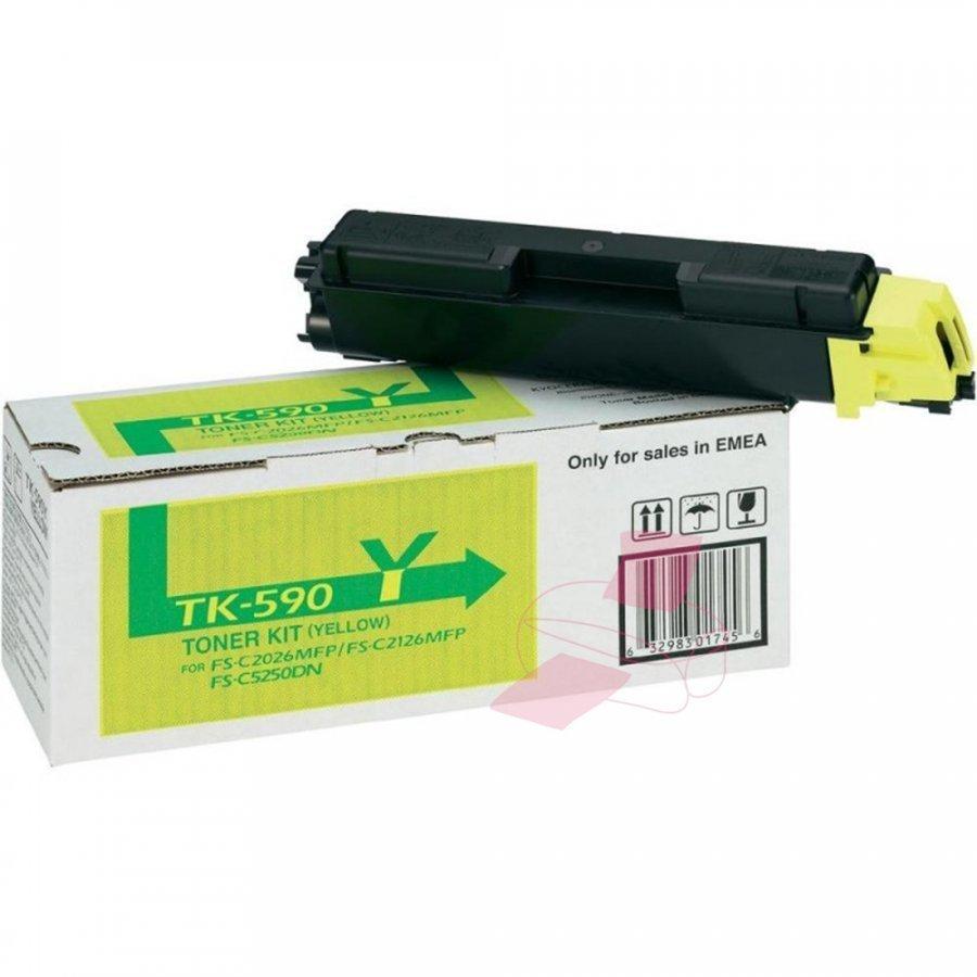 Kyocera TK-590Y Keltainen Värikasetti