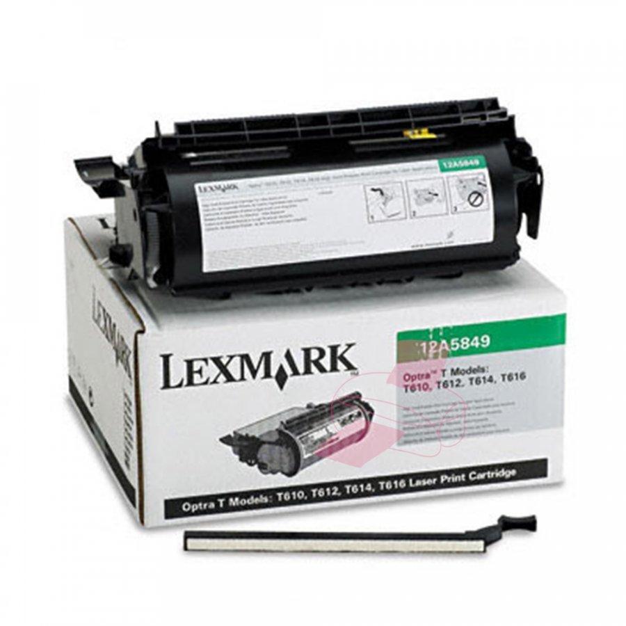 Lexmark 0012A5849 Musta Värikasetti