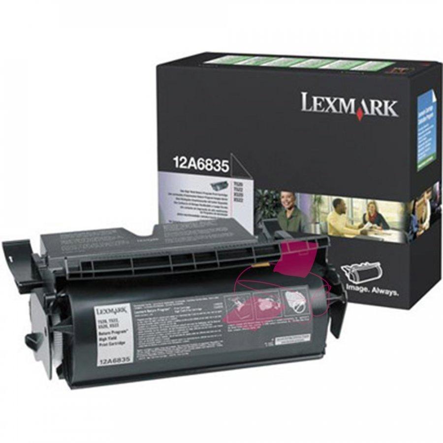 Lexmark 0012A6835 Musta Värikasetti