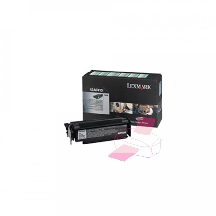 Lexmark 0012A7415 Musta Värikasetti