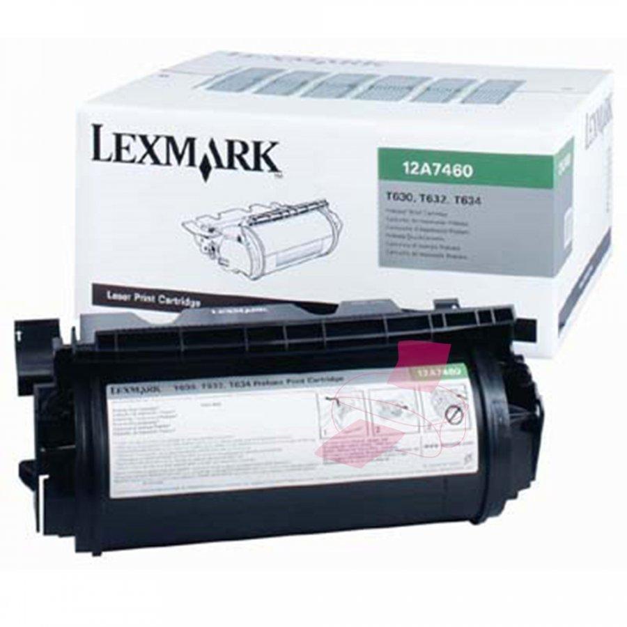 Lexmark 0012A7460 Musta Värikasetti
