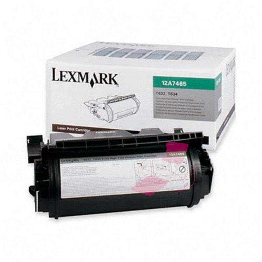 Lexmark 0012A7465 Musta Värikasetti