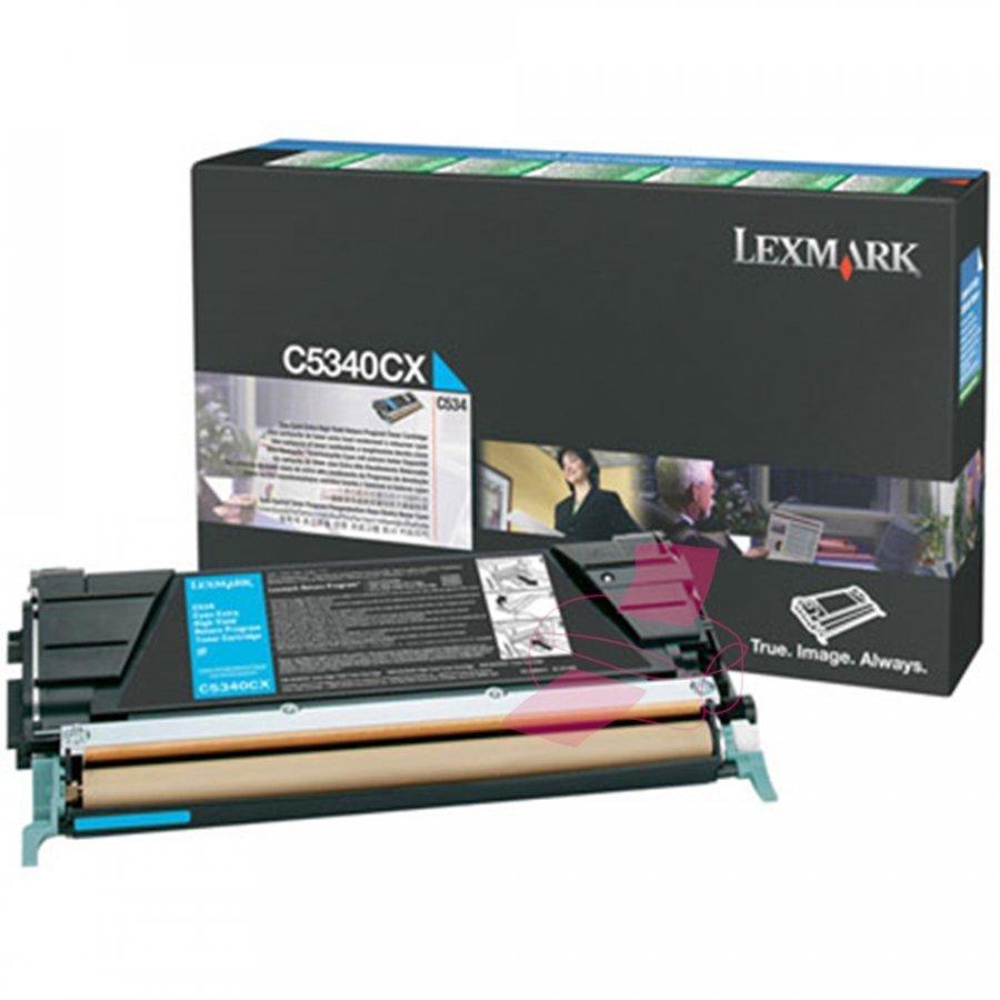 Lexmark 00C5340CX Cyan Värikasetti