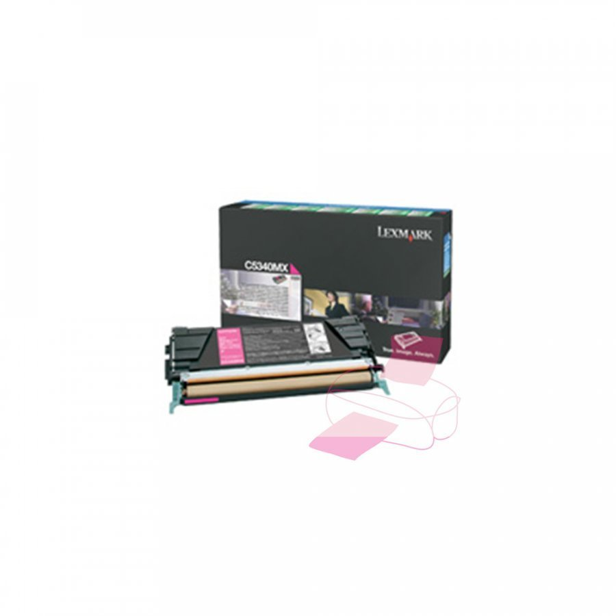 Lexmark 00C5340MX Magenta Värikasetti