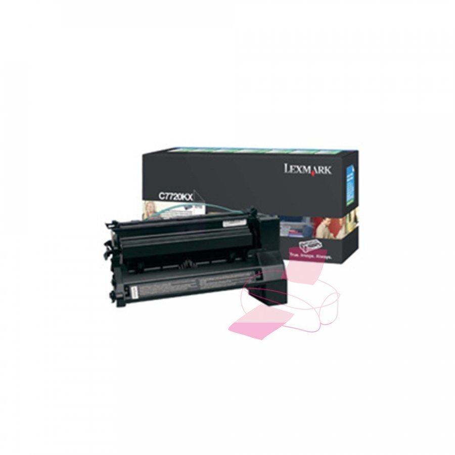 Lexmark 00C7720KX Musta Värikasetti