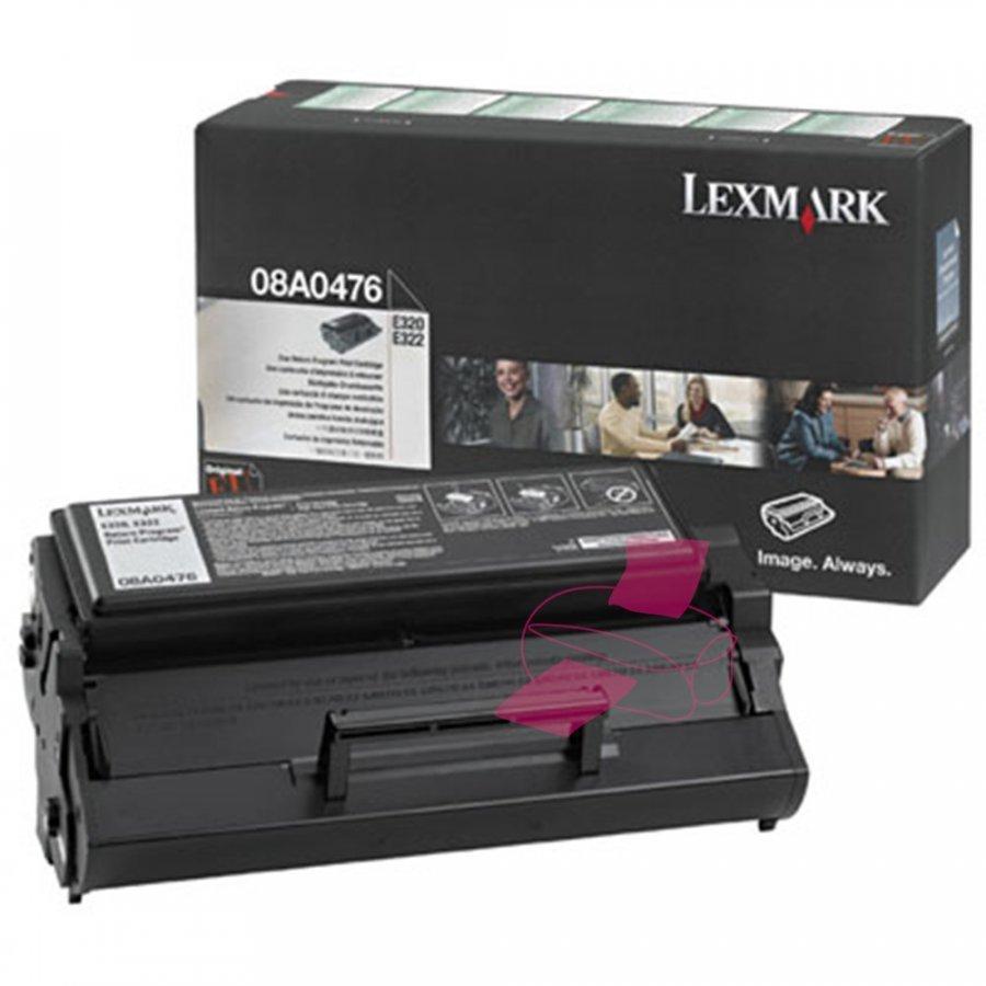 Lexmark 08A0476 Musta Värikasetti